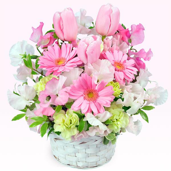 【予算で選ぶ  3000円から(法人)】春のピンクアレンジメント(ピンク)