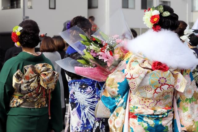 成人の日にもおすすめ!~優しい春色のお花~