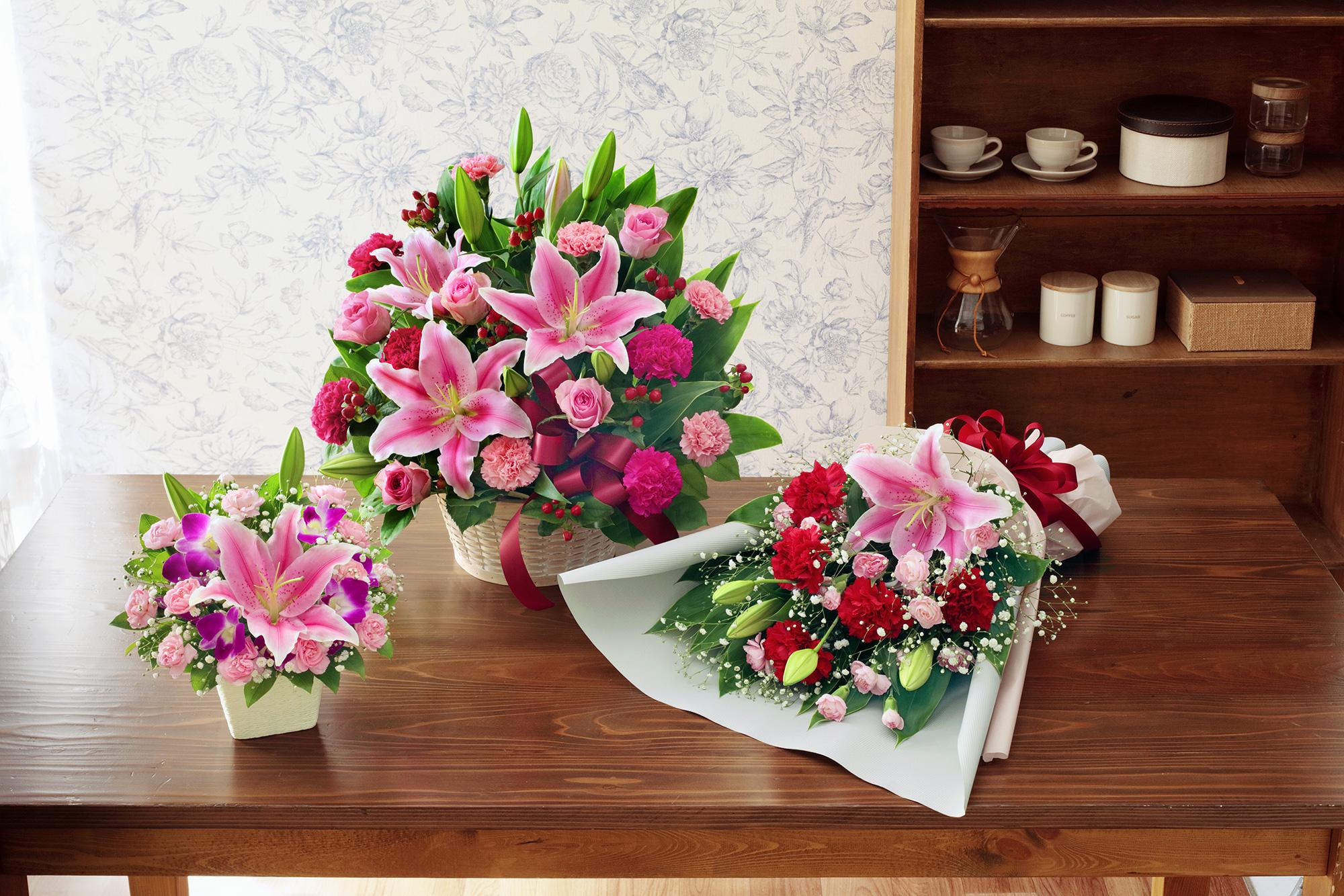 花束とアレンジメントどっちが嬉しい?~それぞれの違い~