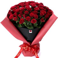 ハッピーローズセレクション60本のバラ