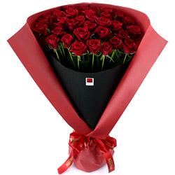 ハッピーローズセレクション30本のバラ