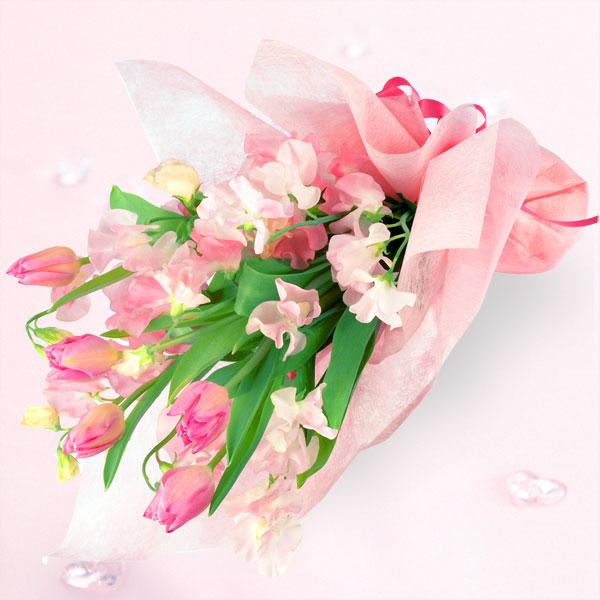 チューリップの花束(お届け日:1月5日~)