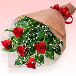第7位★赤バラの花束