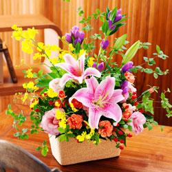 2位◆秋の華やかアレンジメント