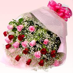ミックスバラの花束
