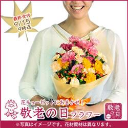 幸せのピンクカーネーション【オリジナルポット】